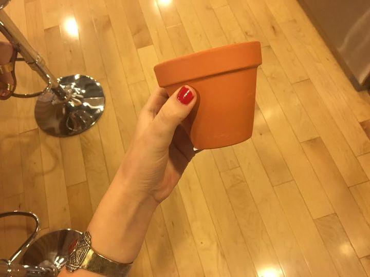 marbleizing terra cotta pots , crafts, gardening