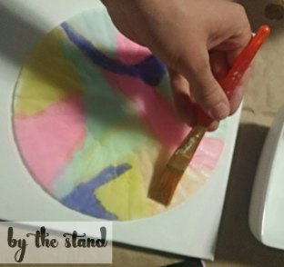 water color art with coffee filter, crafts, how to, repurposing upcycling
