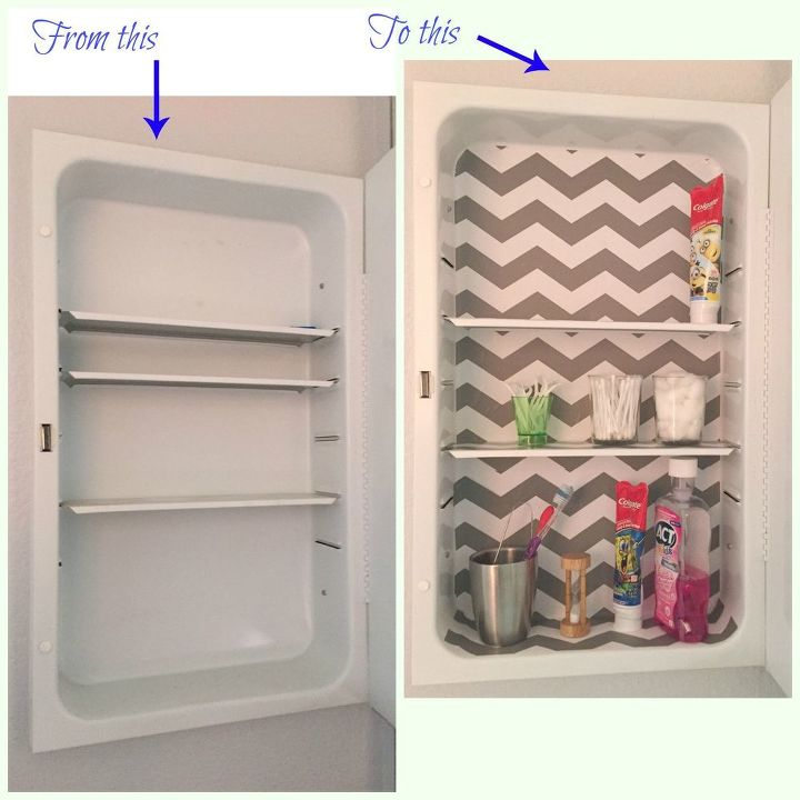 medicine cabinet makeover for less than 2 , bathroom ideas, small bathroom ideas