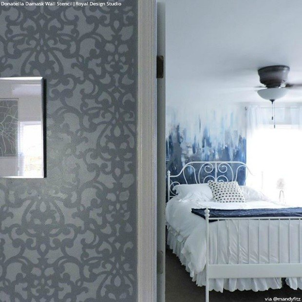 Romantic Bedroom Wall Decor: Stencil Ideas For A Dreamy Romantic Bedroom