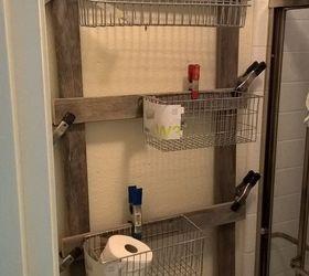Delightful Reclaimed Bathroom Caddy, Bathroom Ideas, Organizing, Storage Ideas