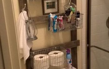 Reclaimed Bathroom Caddy