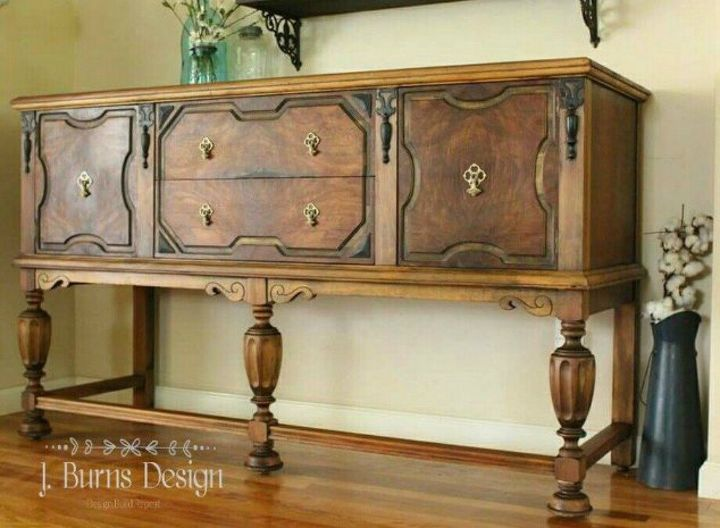 s 15 magical furniture flips using nothing but unicorn spit stain, painted furniture, Restore an antique sideboard