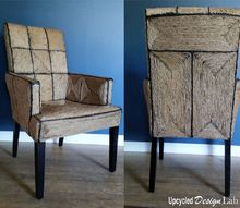 the trouble with cats and the making of a pickle juice chair, how to, reupholster