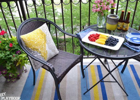 how to paint an outdoor rug, crafts, how to, painting
