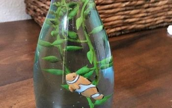 diy fish aquarium, crafts