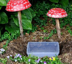 Perfect Make A Fairy Garden Water Fountain That Really Works, Gardening, Ponds  Water Features