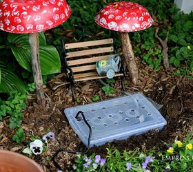 Lovely Make A Fairy Garden Water Fountain That Really Works, Gardening, Ponds  Water Features