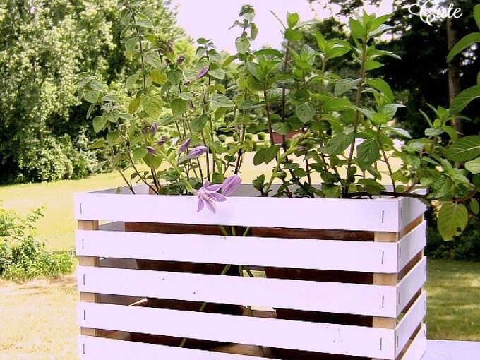 wooden crates from old window blinds, crafts, how to, repurposing upcycling
