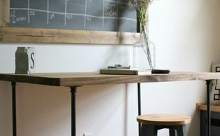 how to build the easiest desk ever, crafts, how to, rustic furniture