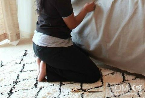 s 9 ways to make your home look amazing using fabric, home decor, reupholster, Create a Custom Headboard