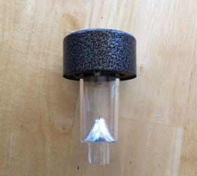 Candle Holder to Traveling Solar Holder Hometalk