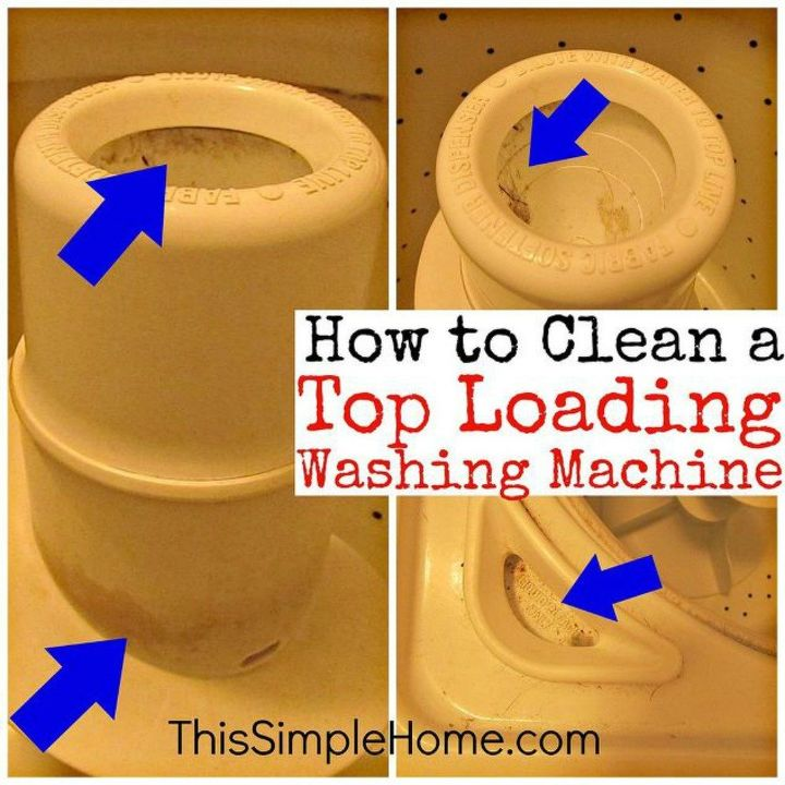 s 11 no scrub ways to clean your washer and dryer, appliances, cleaning tips, Instead of bleach use vinegar