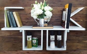 look what s cooking diy pallet shelf, pallet, shelving ideas, woodworking projects