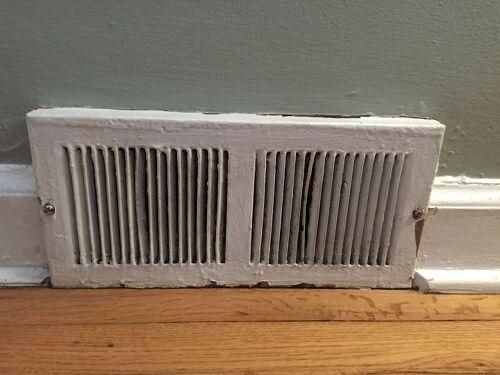 Replacing Baseboard Registers In 1950 S House Hometalk