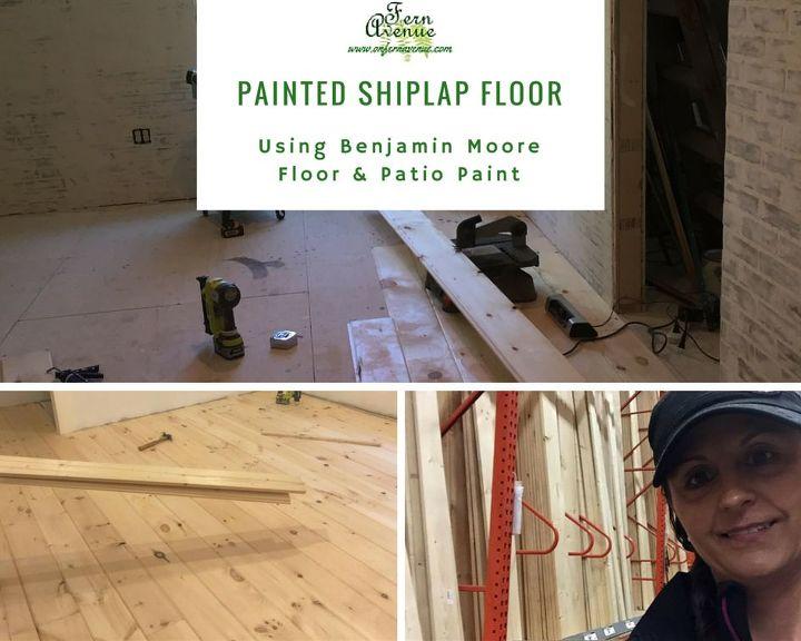 laying shiplap floors, flooring, home maintenance repairs, how to