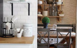 modern farmhouse home tour, home decor, rustic furniture