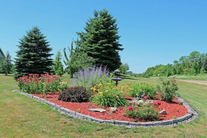 flower garden make over in full bloom, gardening, landscape