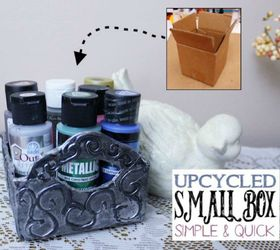 Make A Metallic Small Box
