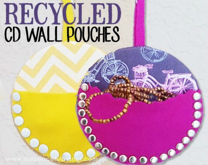s 15 brilliant things to do with your old cds, repurposing upcycling, Use them to hold small things