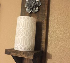 Fasten Stained Wood Pieces For A Rustic Look