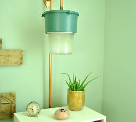 use old warehouse lights and pipes