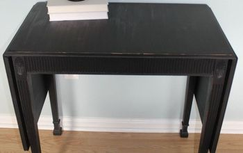farmhouse fun entryway table in ofmp pitch black, painted furniture