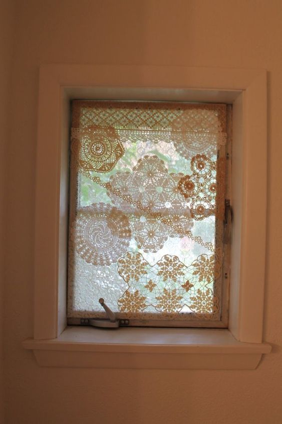 Add Privacy To Plain Windows With Lace Hometalk