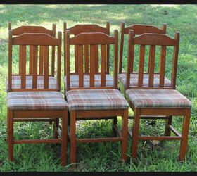 Charmant Tree Bench Made From Kitchen Chairs, Diy, Outdoor Furniture, Repurposing  Upcycling, Woodworking