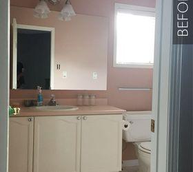 Diy Bathroom Makeover On A Budget, Bathroom Ideas, Diy