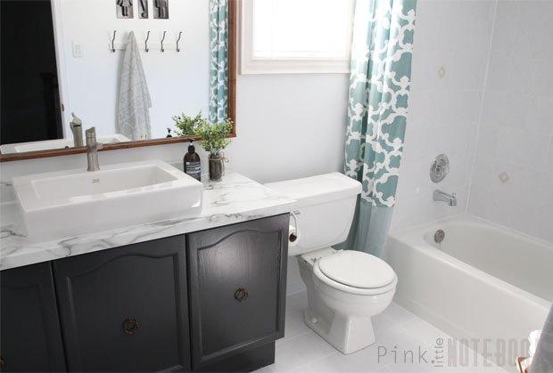 DIY Bathroom Makeover On A Budget Hometalk - Diy bathroom makeover on a budget