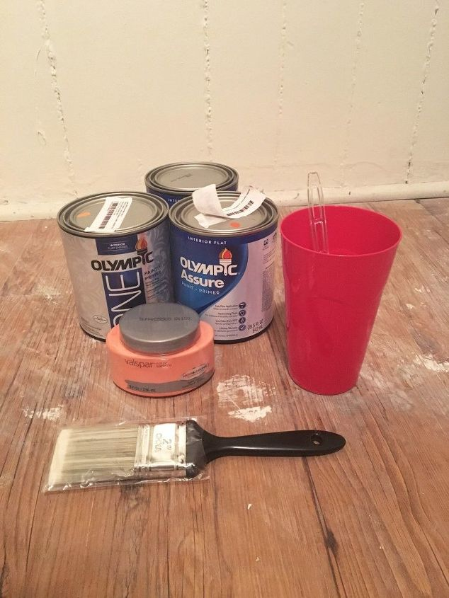 watercolor painted wall, how to, painting