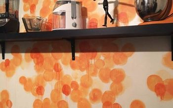 Watercolor Painted Wall