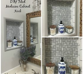 Ideas for updating bathroom cabinets