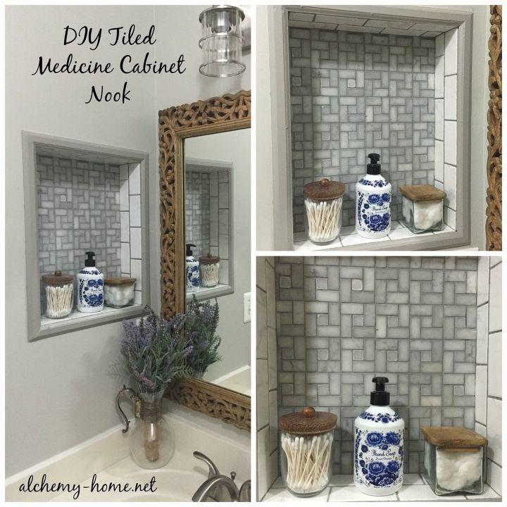 Easy DIY Builders Grade Bathroom Updates