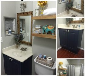 Attrayant Builders Grade Bathroom Update, Bathroom Ideas, Home Improvement, Paint  Colors, Tiling