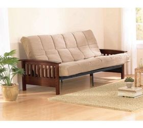 what can i do with mission style futon wood end pieces    hometalk  rh   hometalk
