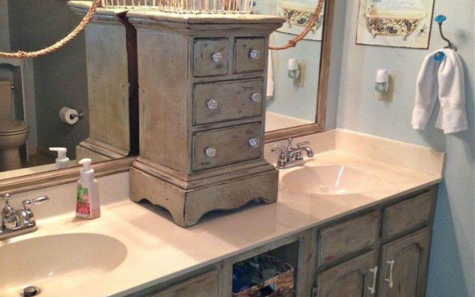 How To Change A Bathroom Vanity 11 Ways To Transform Your Bathroom Vanity  Without Replacing It