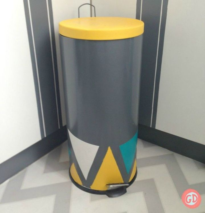 Tired Of Your Ugly Trash Can Here Are