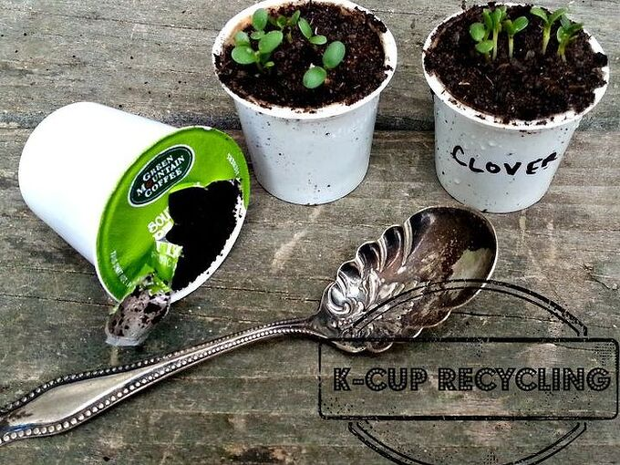smart gardening with k cups, gardening