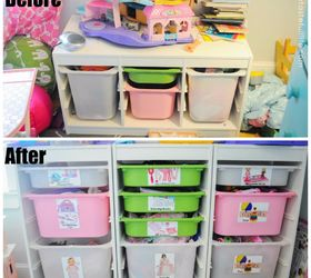 Good Toy Storage Ideas For Small Spaces Part - 1: Diy Toy Box Labels Small Space Toy Storage Solution, Organizing, Storage  Ideas