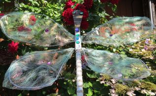 dragonfly for the garden, crafts, how to