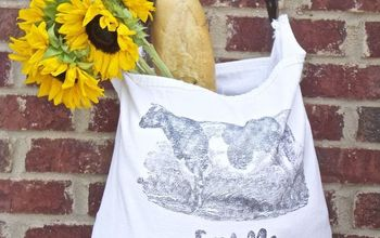 farmer s market bags made from drop cloth, crafts, reupholster