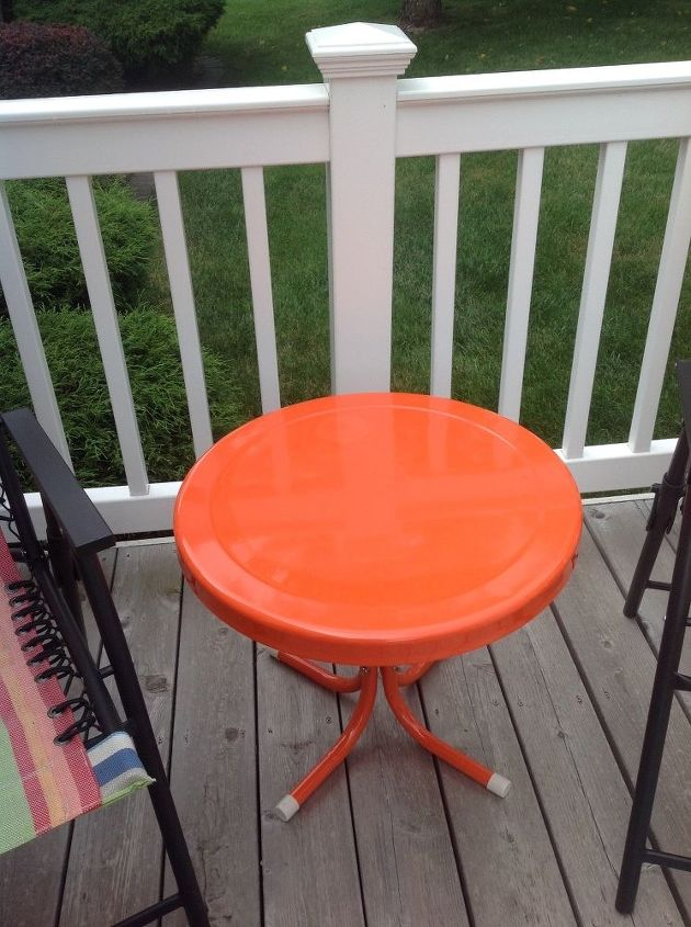 Q Painting A Metal Table What Kind Of Paint Should I Use Painted Furniture