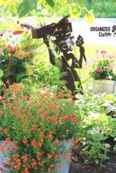 yard of flowers 2016 garden tour, container gardening, gardening, landscape