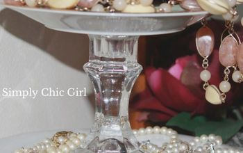 Why I Created My DIY Tiered Jewelry Stand