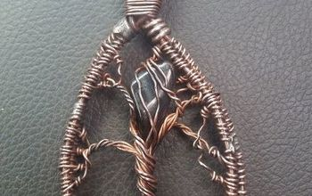 my first copper twist project, crafts