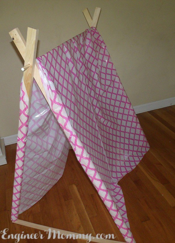 diy kid s teepee the easy way , crafts, how to