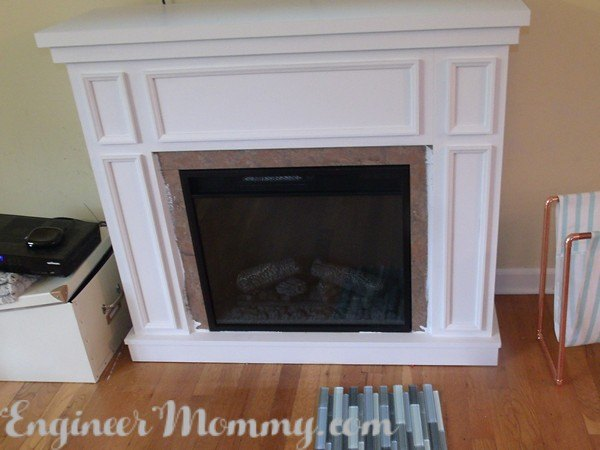 diy fireplace update, fireplaces mantels, home decor