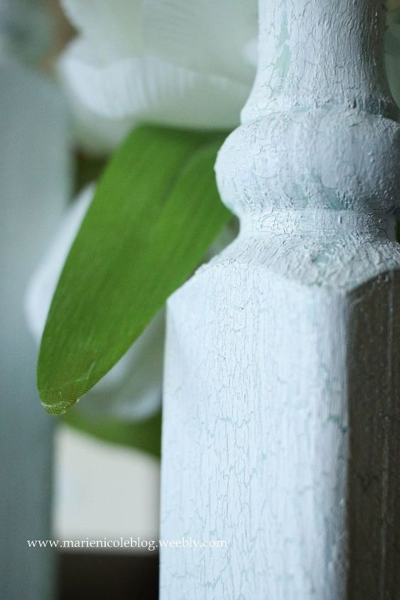 diy tall candlesticks made from a baluster , crafts, lighting, painting, repurposing upcycling